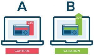 Diseño de un anuncio banner test ab